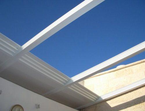 סגירת סוכה ירושלמית גג הזזה